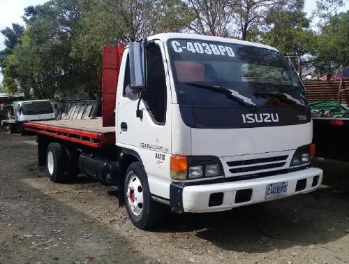 Isuzu Truck Salvage Auckland